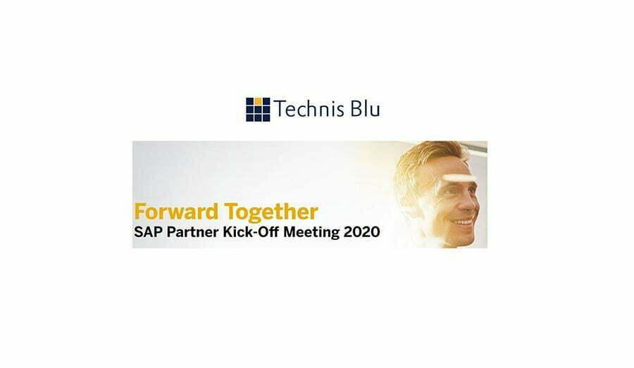 """Forward Together"": Technis Blu protagonista al meeting annuale SAP"