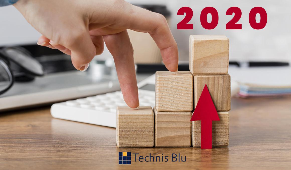 Il 2020 di Technis Blu: un anno di sfide…e di vittorie